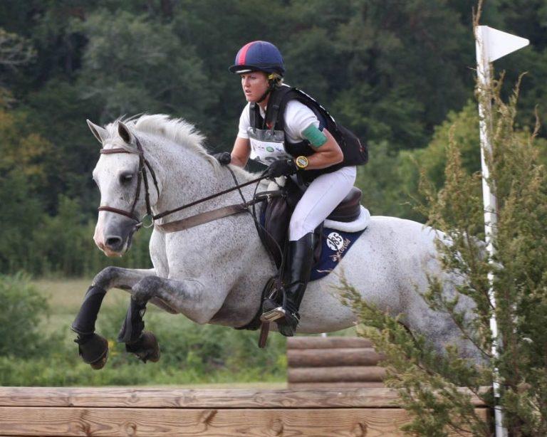 Allison Springer riding a horse