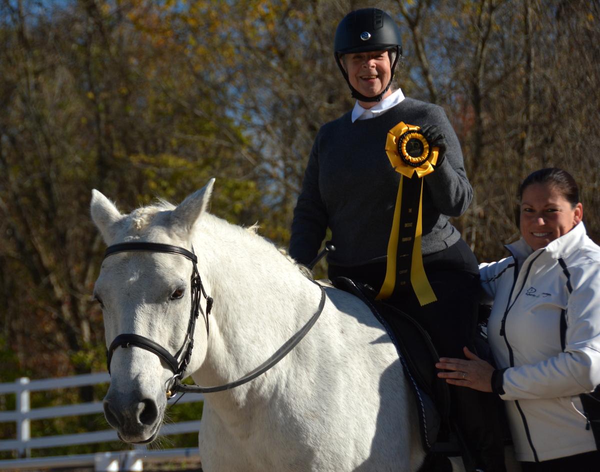 Harriet Entin's Ride with Dressage Foundation Century Club
