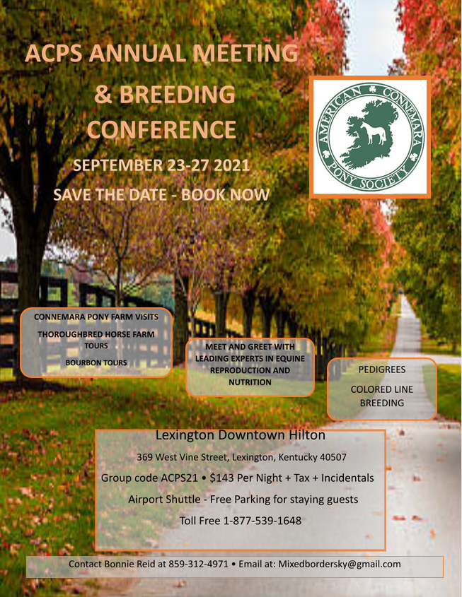 Read more about the article Annual Meeting & Breeding Conference Registration Available