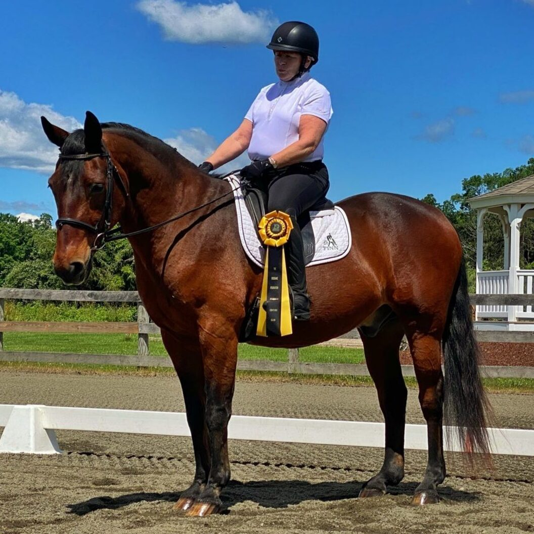 Read more about the article Dressage Foundation: Team #500 Helene Dellechiaie & Finnian's Chase